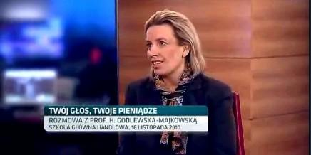 Rozmowa z Hanną Godlewską – Majkowską w TVN CNBC